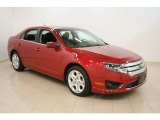 2010 Sangria Red Metallic Ford Fusion SE V6 #39943906