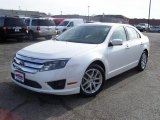2010 White Suede Ford Fusion SEL #39943284