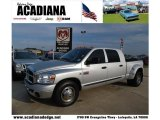 2008 Bright Silver Metallic Dodge Ram 3500 SLT Mega Cab Dually #39943533