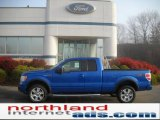 2010 Blue Flame Metallic Ford F150 XLT SuperCab 4x4 #39943319
