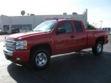 2011 Victory Red Chevrolet Silverado 1500 LT Extended Cab 4x4 #39943765