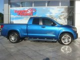 2007 Blue Streak Metallic Toyota Tundra SR5 Double Cab #39944164