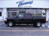 2010 Black Chevrolet Silverado 1500 LT Crew Cab #40004724