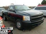 2008 Dark Blue Metallic Chevrolet Silverado 1500 Work Truck Regular Cab #40003929