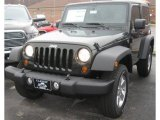 2011 Natural Green Pearl Jeep Wrangler Sport S 4x4 #40004790