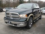 2011 Hunter Green Pearl Dodge Ram 1500 Laramie Crew Cab 4x4 #40004791