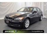 2007 Jet Black BMW 3 Series 335xi Sedan #40003982