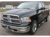 2011 Hunter Green Pearl Dodge Ram 1500 Big Horn Quad Cab 4x4 #40004796