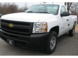 2011 Summit White Chevrolet Silverado 1500 Regular Cab 4x4 #40004797