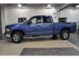 2005 Atlantic Blue Pearl Dodge Ram 1500 SLT Quad Cab 4x4 #40004482