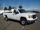 2007 Summit White GMC Sierra 2500HD Regular Cab #40003989