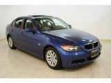 2007 Montego Blue Metallic BMW 3 Series 328i Sedan #40004822
