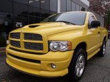 2005 Solar Yellow Dodge Ram 1500 SLT Rumble Bee Regular Cab 4x4 #40004878