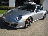 2011 Porsche 911 GT Silver Metallic