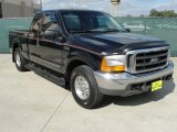 2000 Black Ford F250 Super Duty XLT Extended Cab #40004510