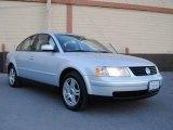 2000 Satin Silver Metallic Volkswagen Passat GLX V6 AWD Sedan #40004894