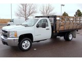 2008 Chevrolet Silverado 3500HD Regular Cab Chassis Stake Truck Data, Info and Specs
