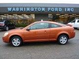 2007 Sunburst Orange Metallic Chevrolet Cobalt LS Coupe #40004623