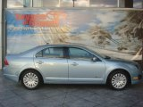 2010 Light Ice Blue Metallic Ford Fusion Hybrid #40005110