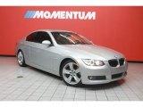 2008 Titanium Silver Metallic BMW 3 Series 335i Coupe #40004698