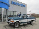 Reef Blue Metallic Ford F150 in 1996