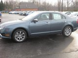 2011 Steel Blue Metallic Ford Fusion SEL V6 #40064212