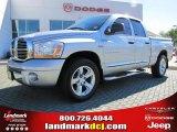 2006 Bright Silver Metallic Dodge Ram 1500 Laramie Quad Cab #40063986