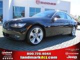2007 Jet Black BMW 3 Series 335i Coupe #40063987