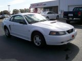 2001 Oxford White Ford Mustang V6 Coupe #40064234