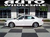 2010 White Platinum Tri-coat Metallic Ford Fusion SEL #40064262