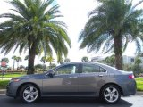2010 Polished Metal Metallic Acura TSX Sedan #40063698