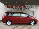 2011 Salsa Red Pearl Toyota Sienna  #40063728