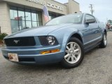 2006 Windveil Blue Metallic Ford Mustang V6 Deluxe Coupe #40063733