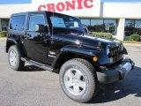 2011 Black Jeep Wrangler Sahara 4x4 #40064065