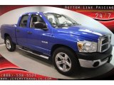 2008 Electric Blue Pearl Dodge Ram 1500 SXT Quad Cab #40063792