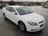 2011 Chevrolet Malibu Summit White