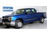 2003 Arrival Blue Metallic Chevrolet Silverado 1500 LT Extended Cab 4x4 #40064368