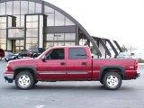 2006 Sport Red Metallic Chevrolet Silverado 1500 Z71 Crew Cab 4x4 #40064371