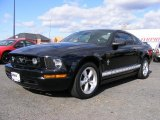 2007 Black Ford Mustang V6 Premium Coupe #40134351