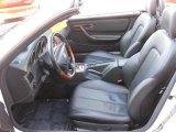 2001 Mercedes-Benz SLK 320 Roadster Charcoal Black Interior