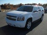 2011 Summit White Chevrolet Suburban LTZ 4x4 #40134421