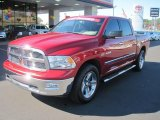 2009 Flame Red Dodge Ram 1500 Lone Star Edition Crew Cab #40134128