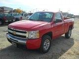 2011 Victory Red Chevrolet Silverado 1500 Regular Cab 4x4 #40134448
