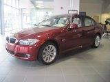 2011 Vermillion Red Metallic BMW 3 Series 328i Coupe #40134138