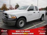 2011 Bright White Dodge Ram 1500 ST Quad Cab #40133837
