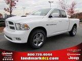 2011 Bright White Dodge Ram 1500 Sport Quad Cab #40133843