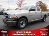 2011 Bright Silver Metallic Dodge Ram 1500 ST Quad Cab #40133850