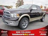 2011 Rugged Brown Pearl Dodge Ram 1500 Laramie Crew Cab 4x4 #40133851