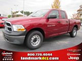 2011 Deep Cherry Red Crystal Pearl Dodge Ram 1500 ST Quad Cab #40133852