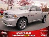 2011 Bright Silver Metallic Dodge Ram 1500 Sport Crew Cab #40133853